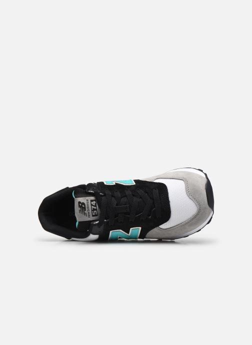 Sneaker New Balance Ml574 mehrfarbig ansicht von links