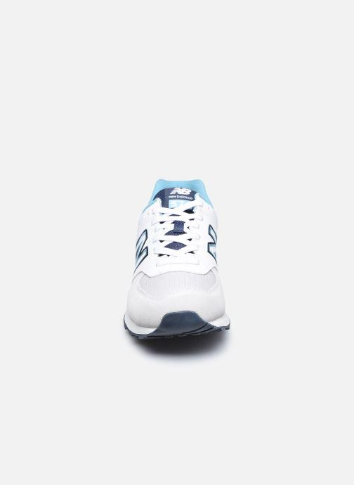 Sneaker New Balance Ml574 weiß schuhe getragen