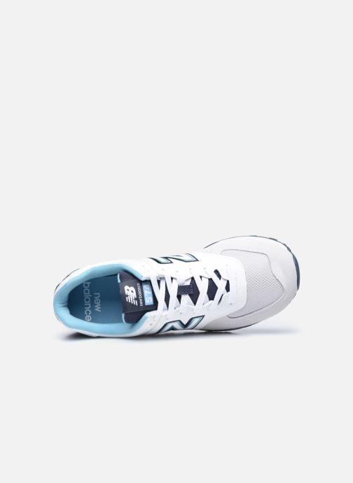 Sneaker New Balance Ml574 weiß ansicht von links