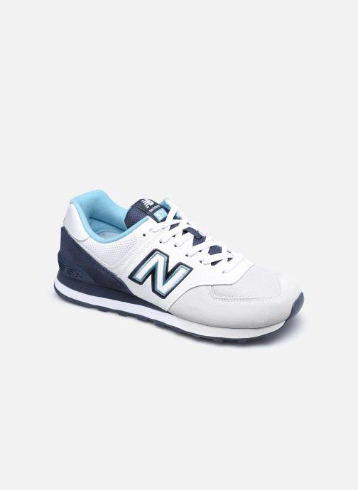 Sneaker New Balance Ml574 weiß detaillierte ansicht/modell