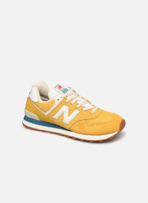 Sneaker New Balance Ml574 gelb detaillierte ansicht/modell