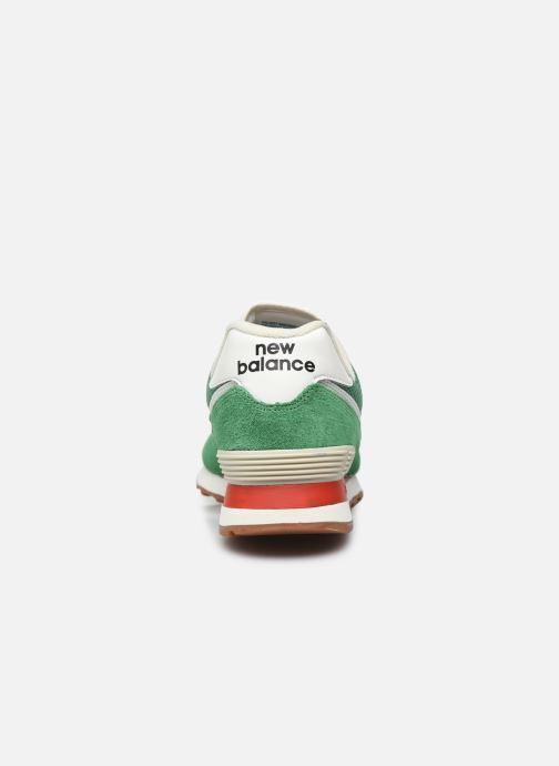 Baskets New Balance Ml574 Vert vue droite