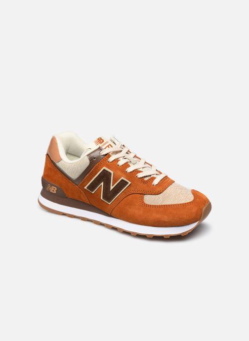 Sneaker New Balance Ml574 orange detaillierte ansicht/modell
