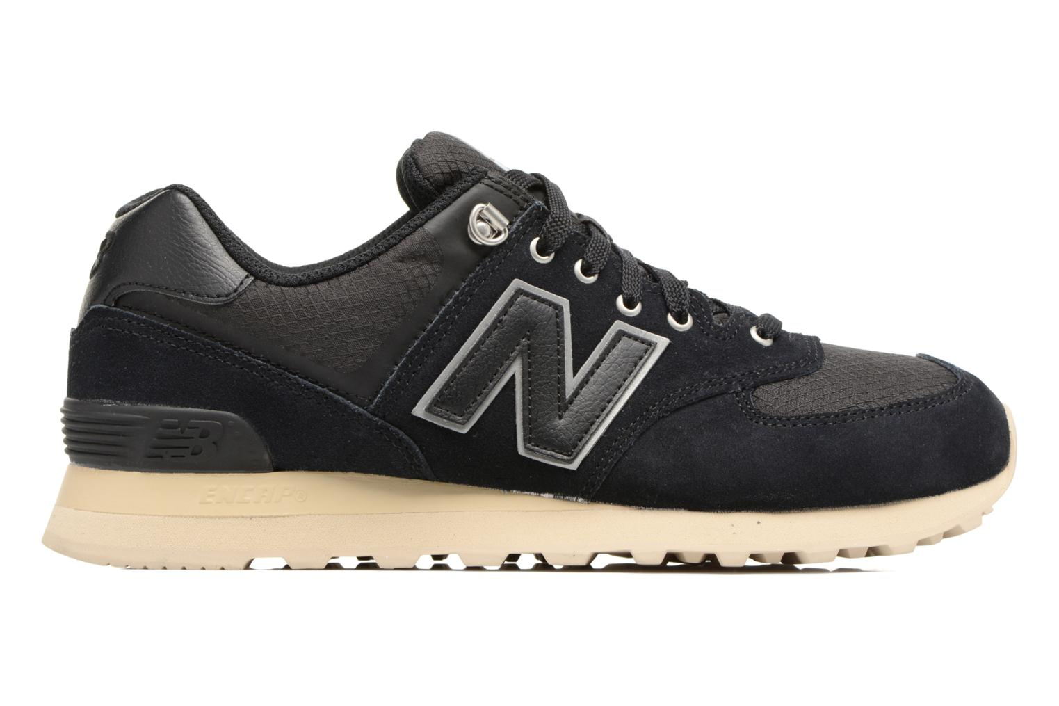 Sneakers New Balance Ml574 Nero immagine posteriore