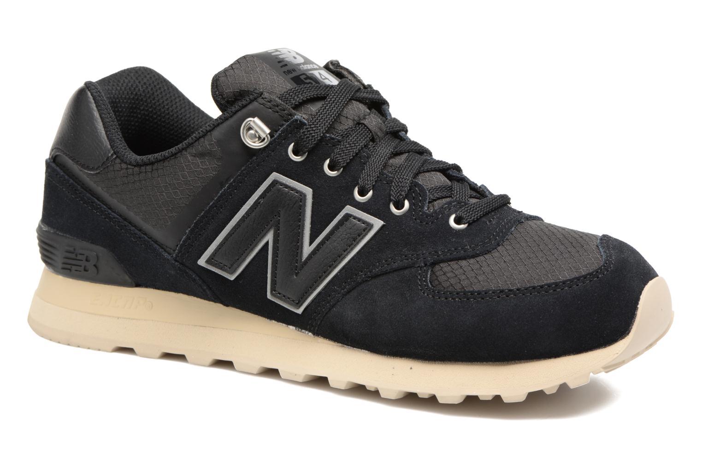New Balance Ml574 (Noir) - Baskets en Más cómodo Confortable et belle