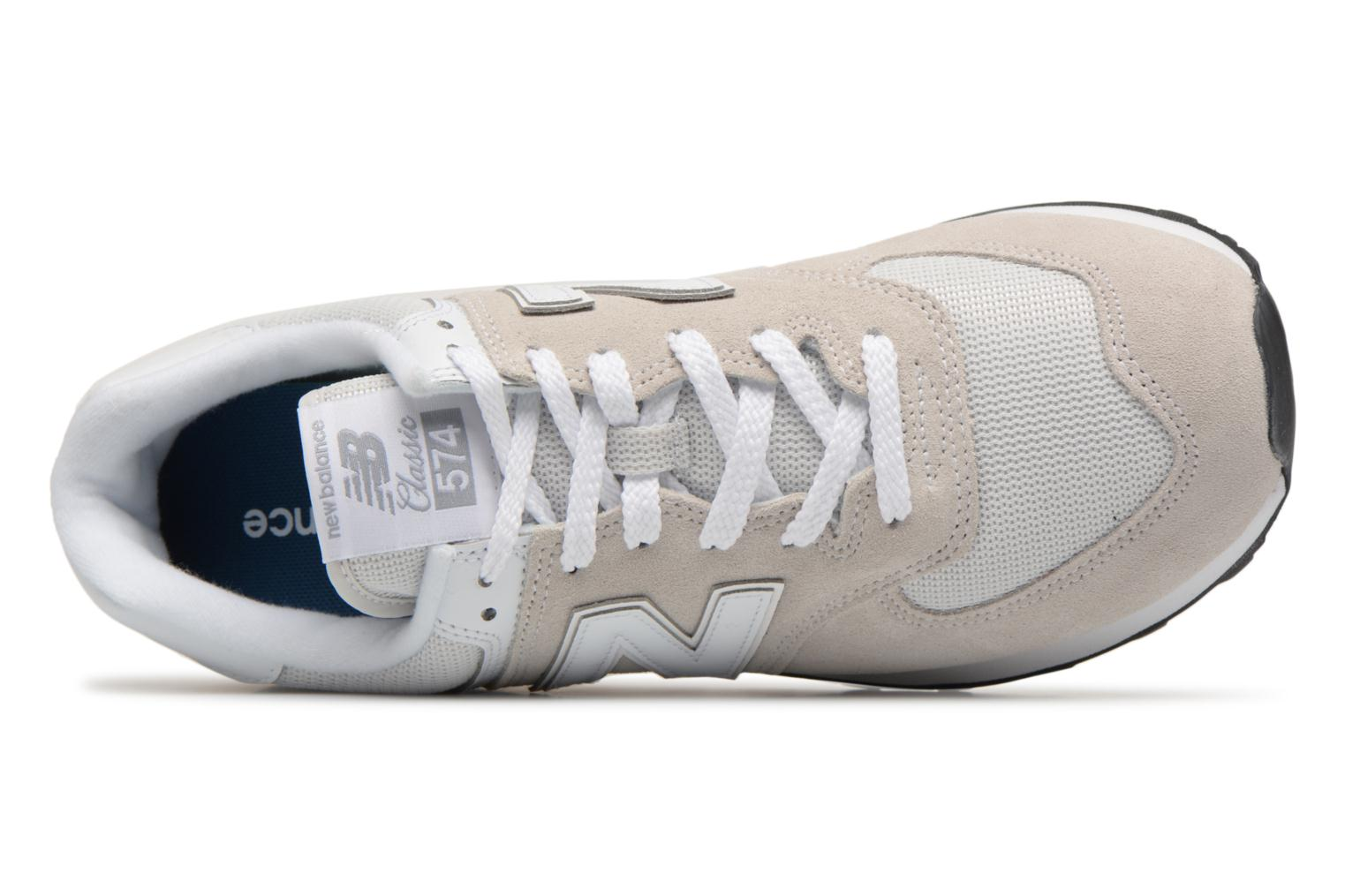 Sneakers New Balance Ml574 Grijs links