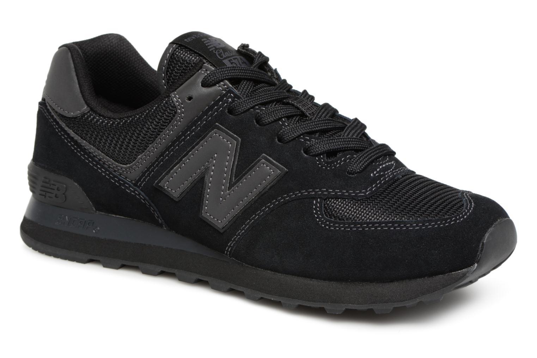 New Balance Ml574 (Noir) - Baskets en Más cómodo Nouvelles chaussures pour hommes et femmes, remise limitée dans le temps