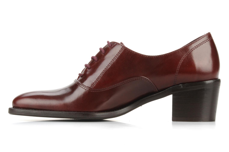 Chaussures à lacets Georgia Rose Daporo Bordeaux vue face
