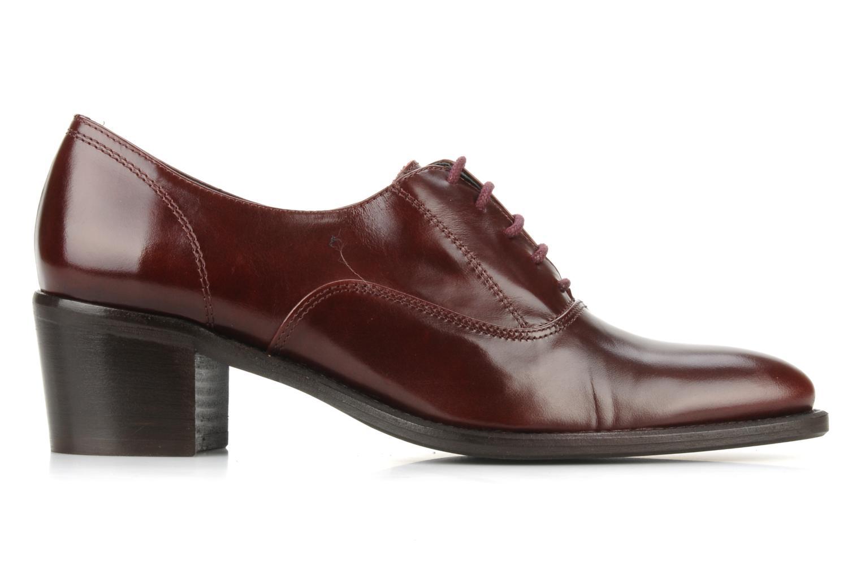 Chaussures à lacets Georgia Rose Daporo Bordeaux vue derrière