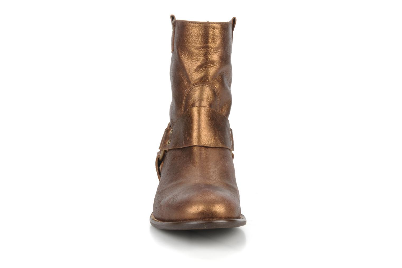 Bottines et boots Georgia Rose Dasine Or et bronze vue portées chaussures