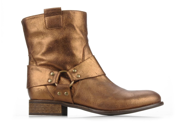 Bottines et boots Georgia Rose Dasine Or et bronze vue derrière