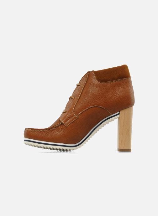 Bottines et boots See by Chloé Gramercy Park Marron vue face