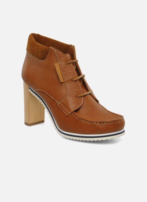 Ankelstøvler See by Chloé Gramercy Park Brun detaljeret billede af skoene