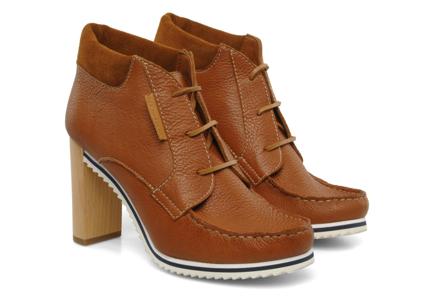 Bottines et boots See by Chloé Gramercy Park Marron vue 3/4
