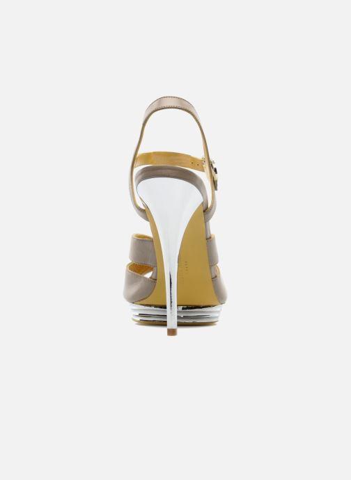 Sandales et nu-pieds Charles Jourdan Marilyne Gris vue droite