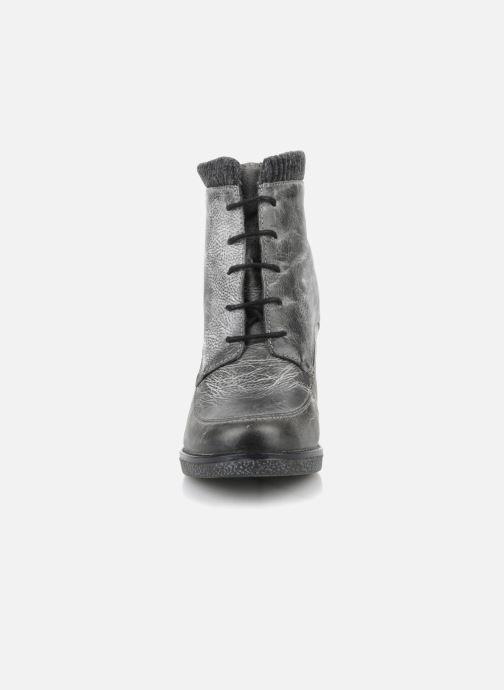 Bottines et boots Castaluna Mildred L Gris vue portées chaussures