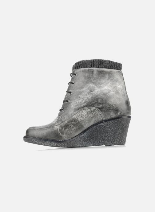 Bottines et boots Castaluna Mildred L Gris vue face