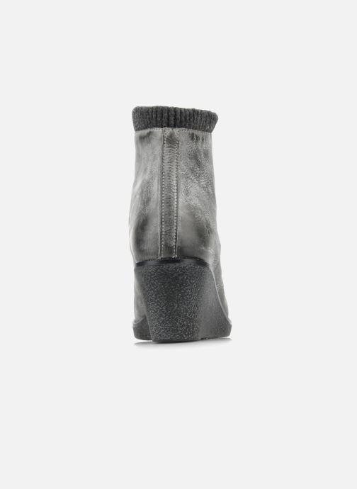 Bottines et boots Castaluna Mildred L Gris vue droite