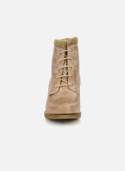 Ankle boots Castaluna Mildred L Brown model view