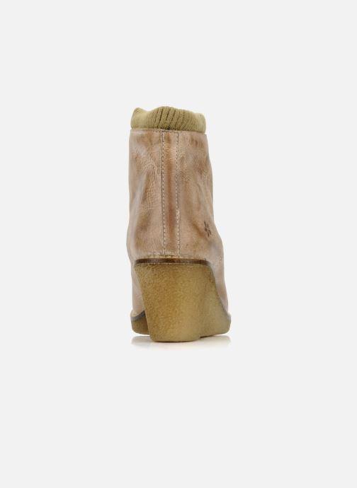 Bottines et boots Castaluna Mildred L Marron vue droite