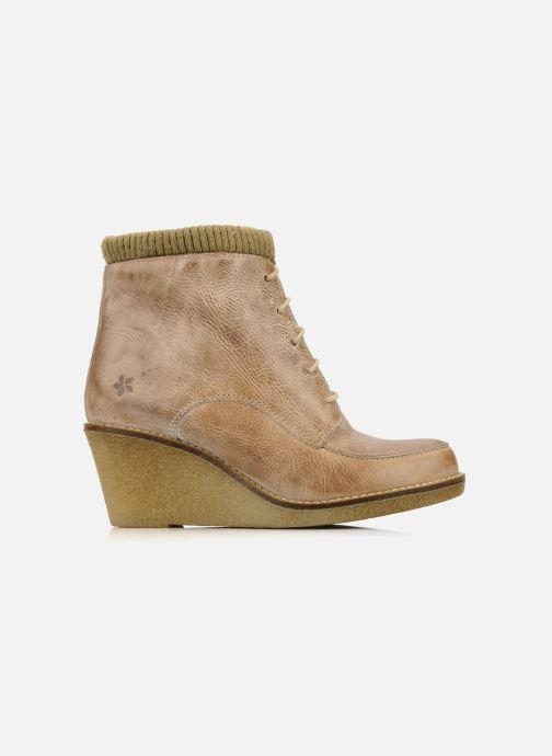 Ankle boots Castaluna Mildred L Brown back view