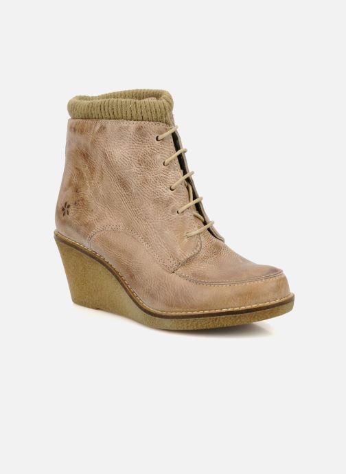 Bottines et boots Castaluna Mildred L Marron vue détail/paire