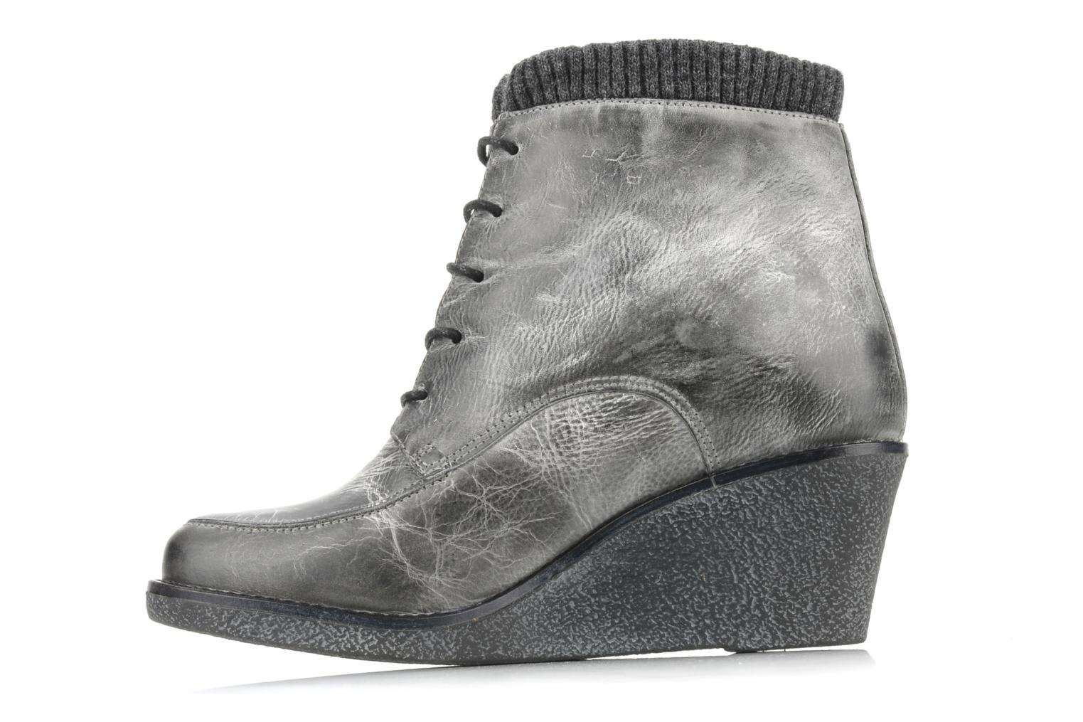 Ankle boots Castaluna Mildred L Grey front view
