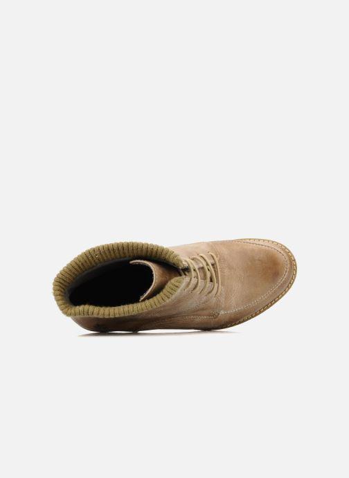 Bottines et boots Castaluna Mildred XL Beige vue gauche