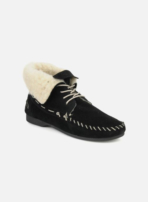 Lace-up shoes Jonak Babs Black detailed view/ Pair view