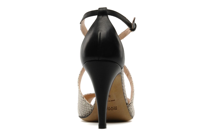 Sandales et nu-pieds Boss Black Niroba E Beige vue droite