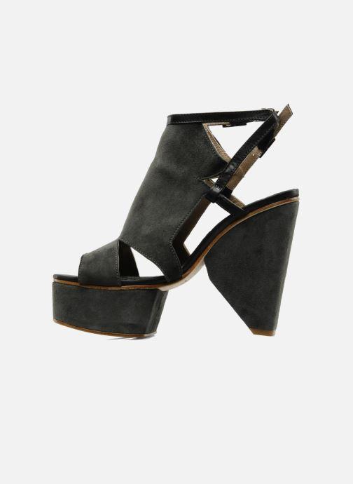 Sandales et nu-pieds Surface To Air Louna Art Deco Gris vue face