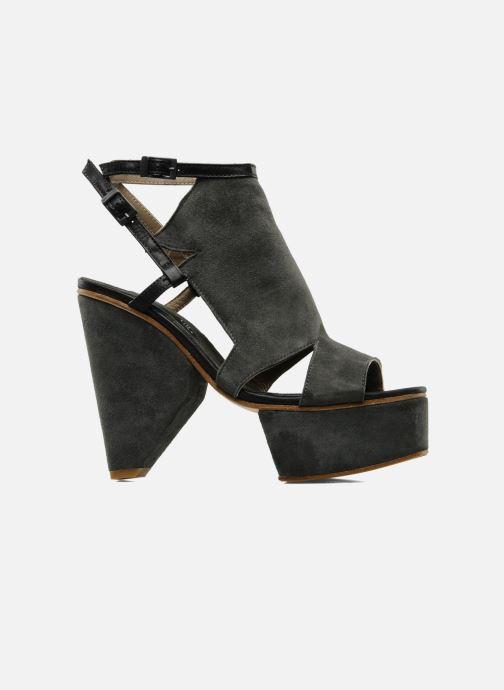 Sandales et nu-pieds Surface To Air Louna Art Deco Gris vue derrière