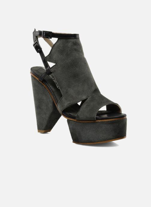Sandales et nu-pieds Surface To Air Louna Art Deco Gris vue détail/paire