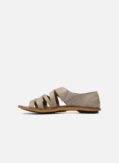 Sandales et nu-pieds Sorel Lake Shoe Beige vue face
