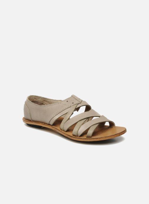 Sandales et nu-pieds Sorel Lake Shoe Beige vue détail/paire