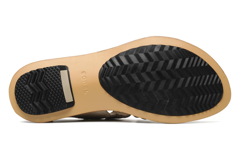 Sandali e scarpe aperte Sorel Lake Shoe Beige immagine dall'alto