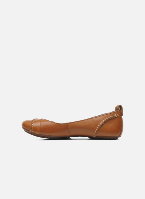 Ballerines Hush Puppies Janessa Marron vue face