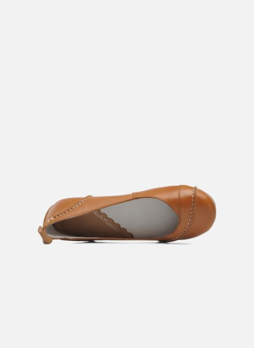 Ballerines Hush Puppies Janessa Marron vue gauche