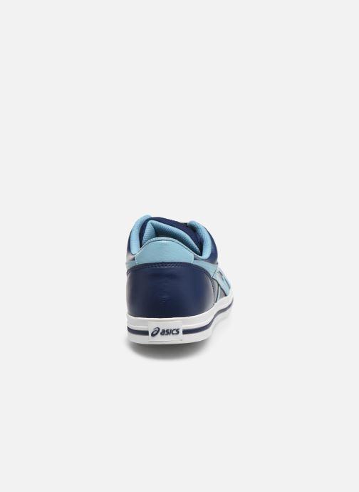 Baskets Asics Aaron Bleu vue droite