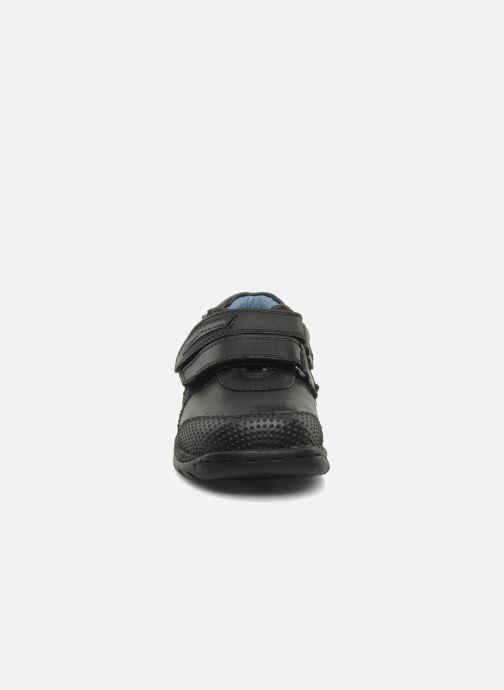 Baskets Hush Puppies Wind Noir vue portées chaussures