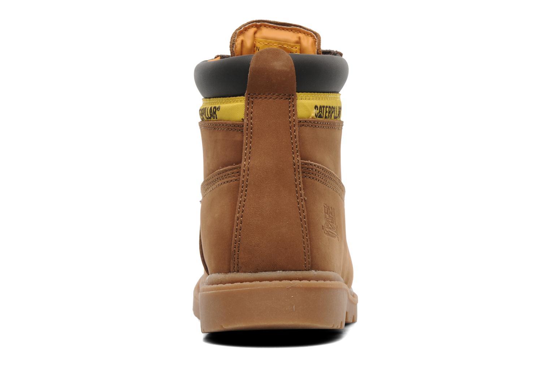 Bottines et boots Caterpillar Colorado Plus Marron vue droite