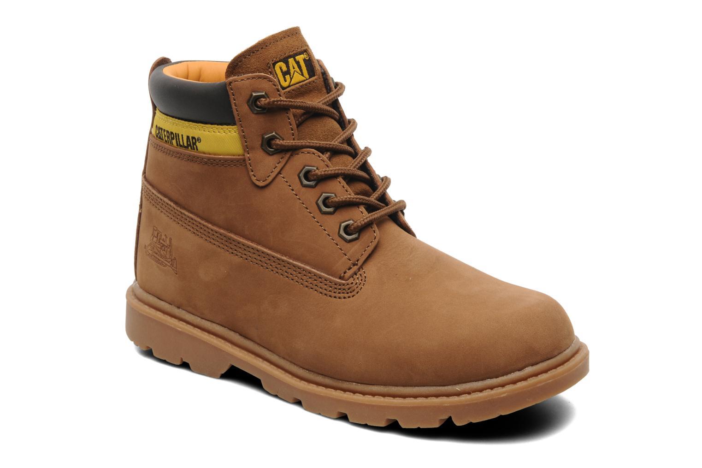 Bottines et boots Caterpillar Colorado Plus Marron vue détail/paire
