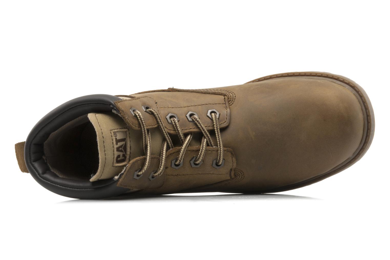 Bottines et boots Caterpillar Colorado Plus Marron vue gauche