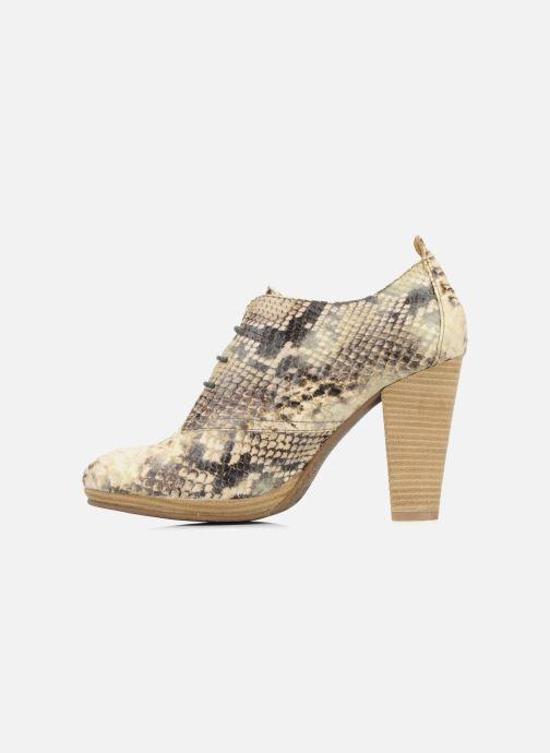 Chaussures à lacets Belmondo Belato Gris vue face