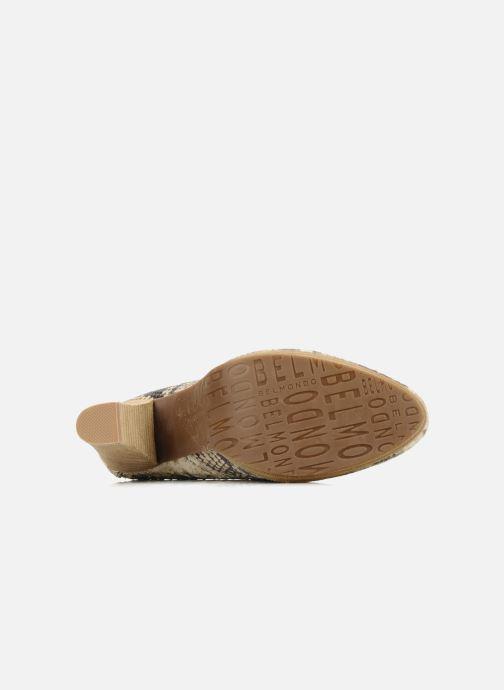 Chaussures à lacets Belmondo Belato Gris vue haut