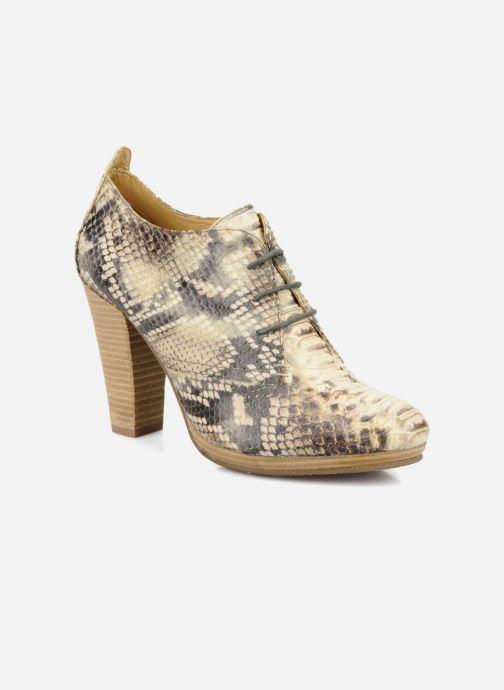 Chaussures à lacets Belmondo Belato Gris vue détail/paire
