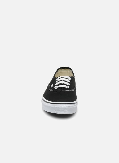 Trainers Vans Authentic w Black model view