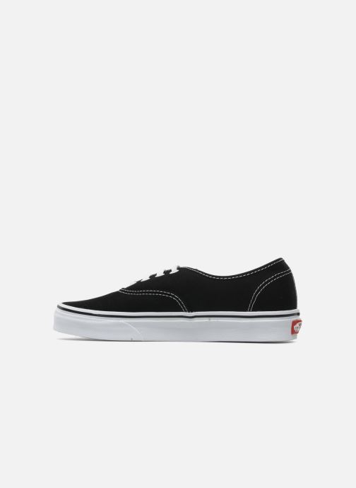 Baskets Vans Authentic w Noir vue face