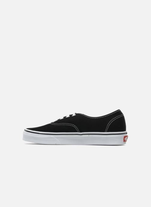 Trainers Vans Authentic w Black front view