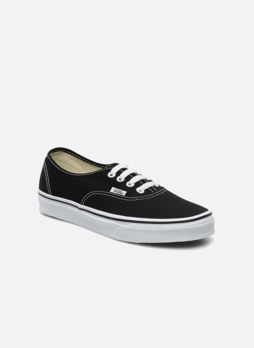 Baskets Vans Authentic w Noir vue détail/paire